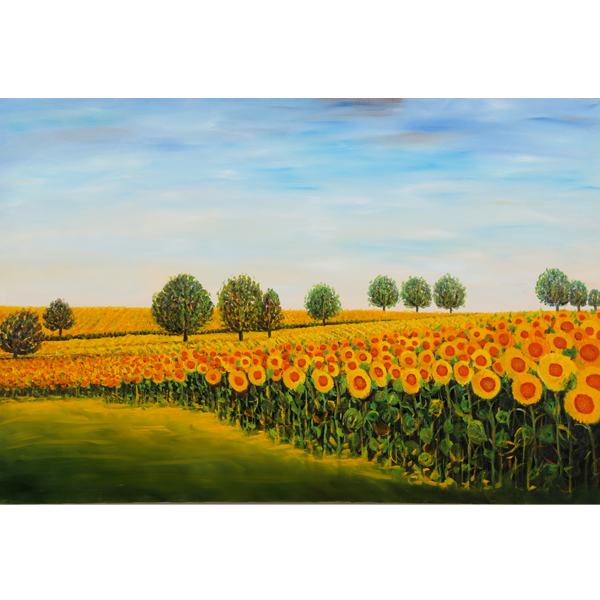 Sunflower Soldiers 92x61cm- $2,500 - SOLD