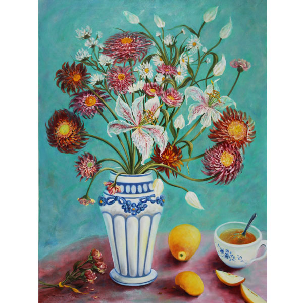 Apple Tea 80x100cm- SOLD