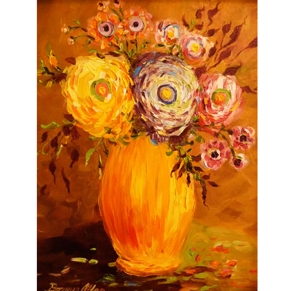 Golden Autumn Bouquet 20x25cm- SOLD
