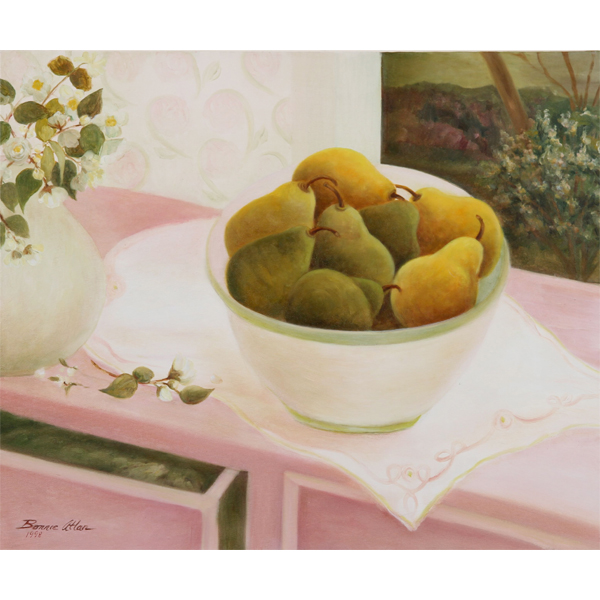 Bowl of Pears 61x51cm- SOLD