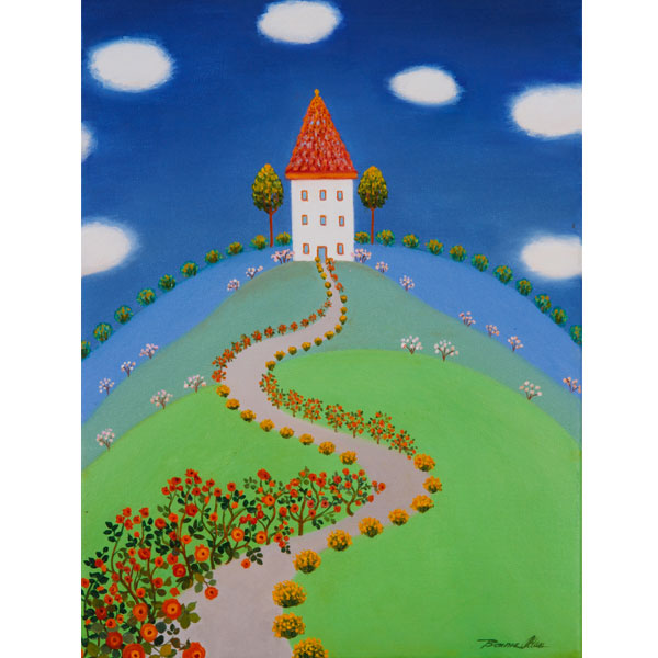 Castle Hill 28x36cm- SOLD