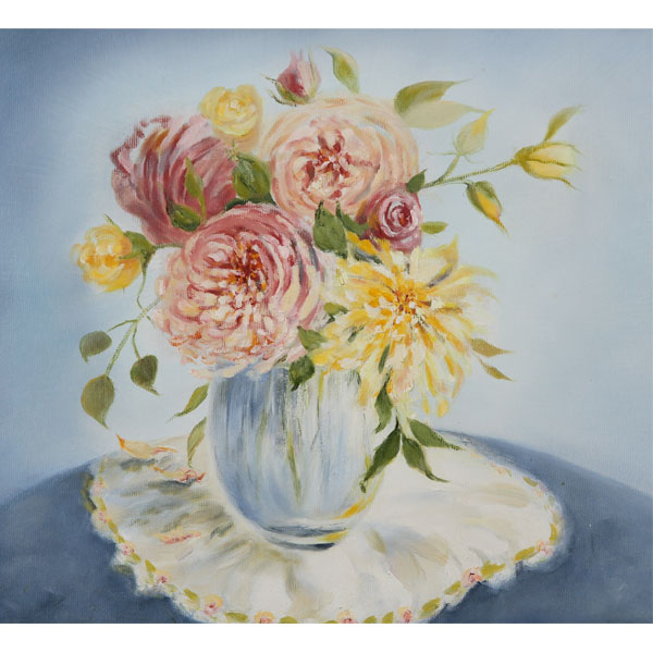 Spring Roses - SOLD