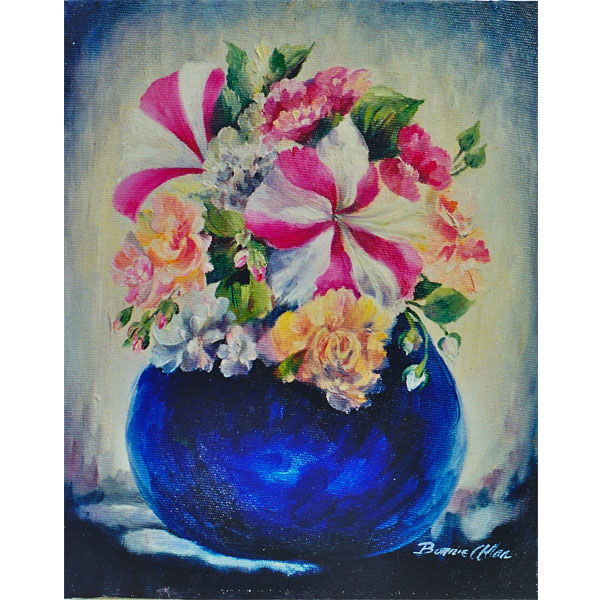 Little Petunias 20x25cm- SOLD