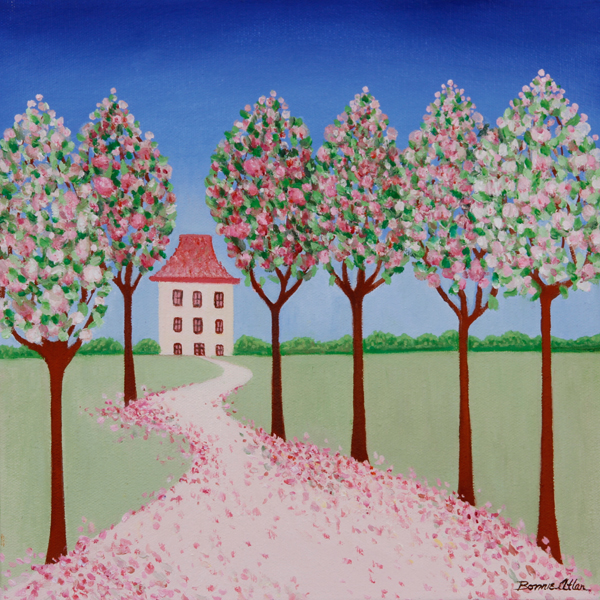 Pink Blossom House - SOLD