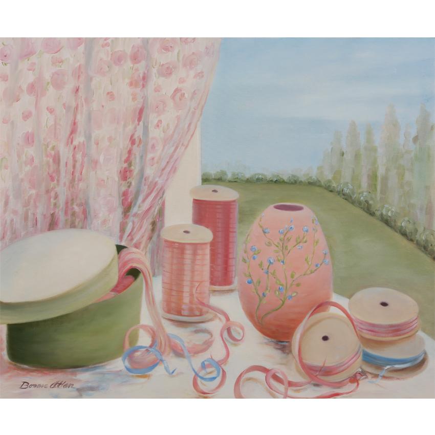 Pink Ribbons 62x45 -$1,000