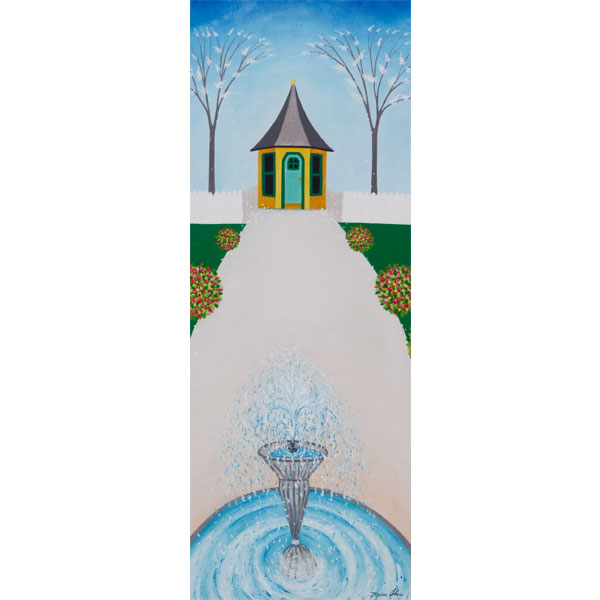Small Garden House 30x80cm- SOLD