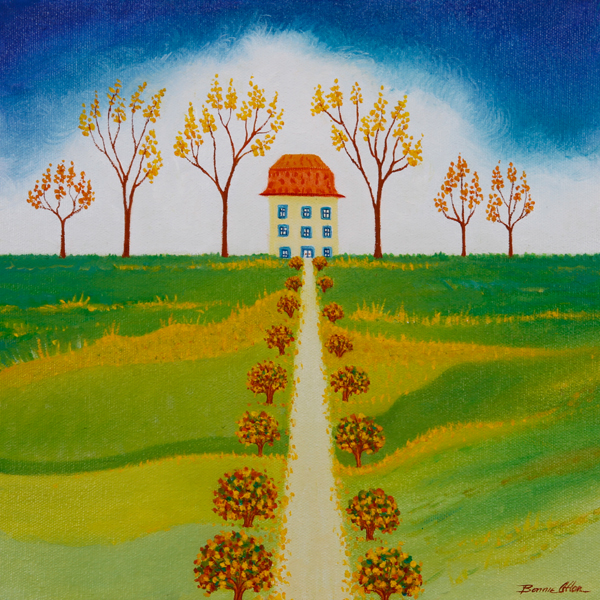 Straight Home 30x 30cm- SOLD