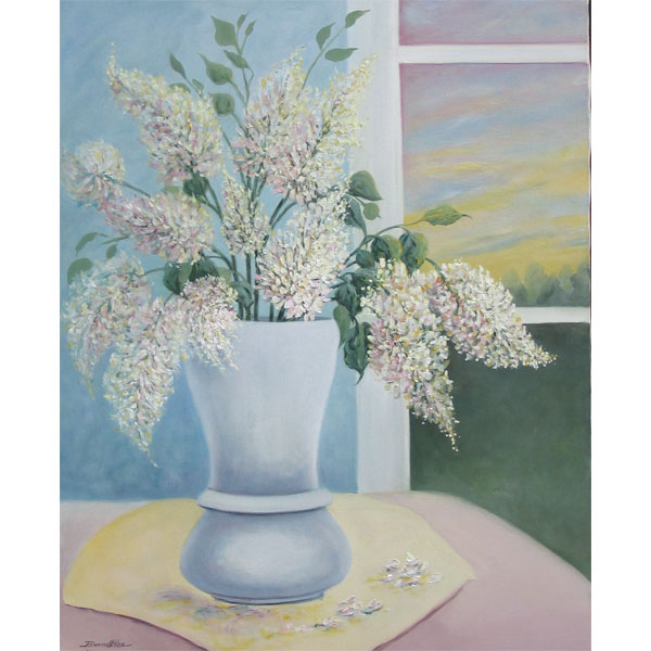 White Lilacs 62x76cm- SOLD