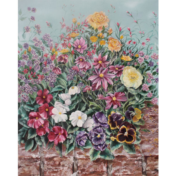 Garden Flowers 46x61cm- $2,600