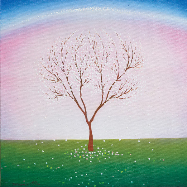 Snow Tree 30 x 30cm- SOLD