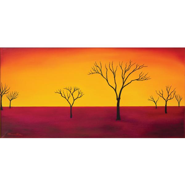 Desert Awakening 60 x 30cm -$1,400 - SOLD