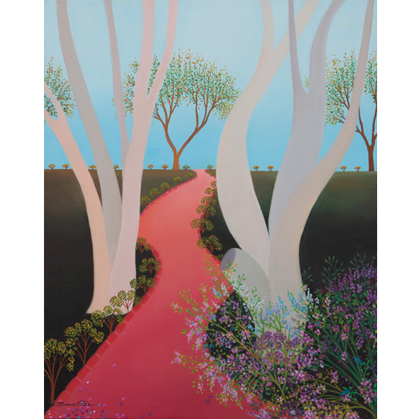 Red Carpet 40 x 50cm - SOLD