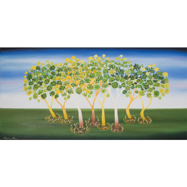 Tree Party 40 x 80cm -SOLD
