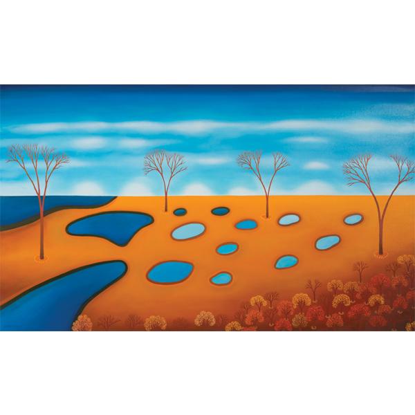Soul Trees 120 x 100cm -$6,900