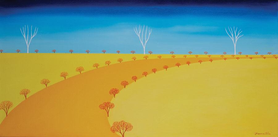 A Warm Autumnn Day 80 x 40cm $1490