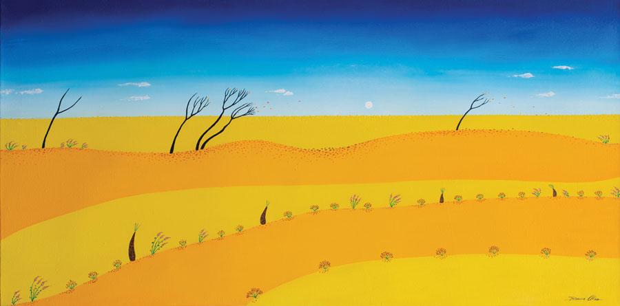 Follow the Wind 120 x 60cm - $2,500