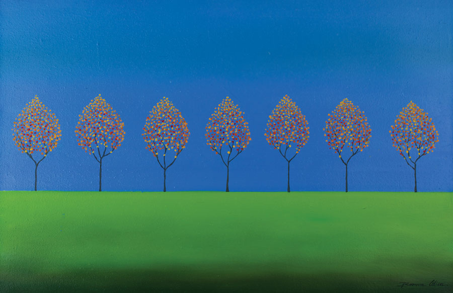 No Fallen Leaves 60x40 - SOLD