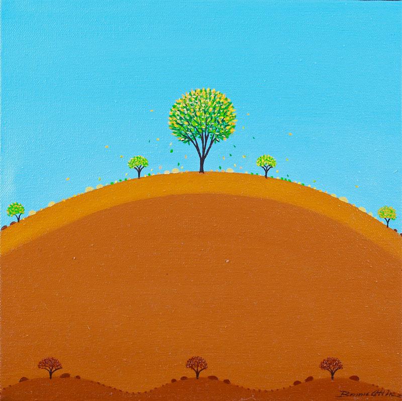 Green Tree 30x 30 cm