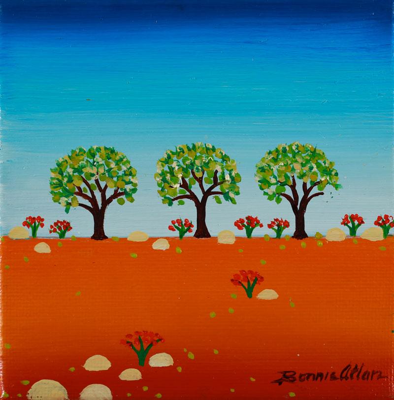 Three Trees 10x10cm - SOLD