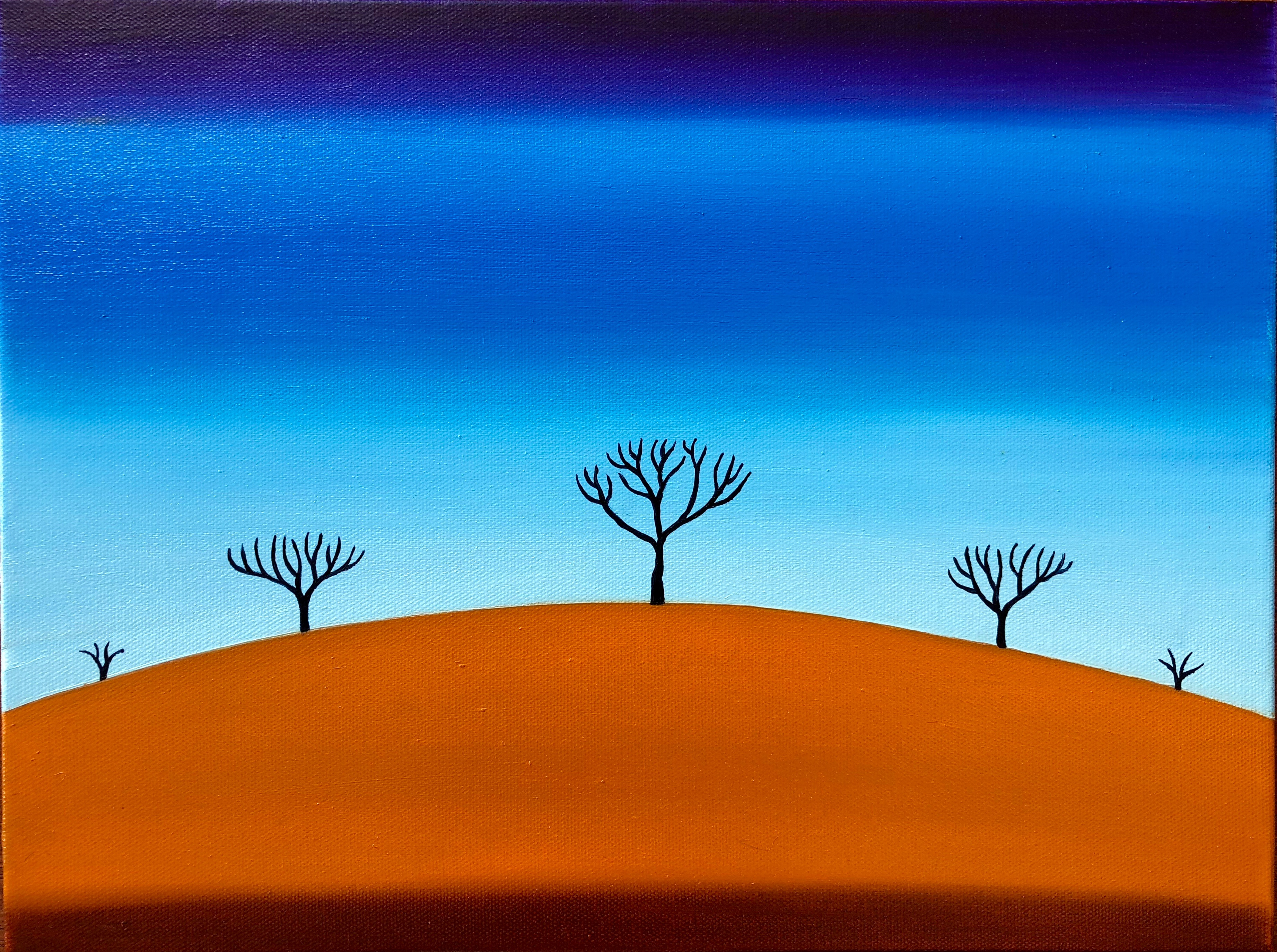 Sienna Hill-45 x 35 cm
