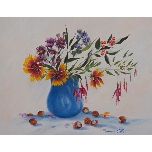 Autumn Bouquet 51x46cm- SOLD