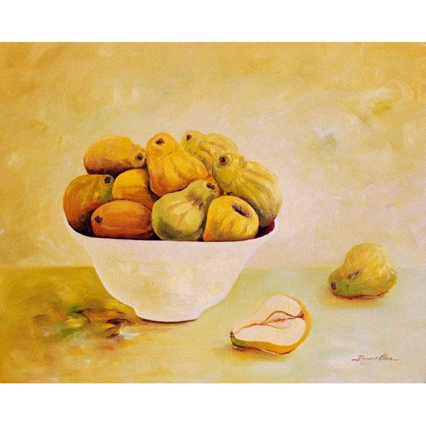 Bowl of Quinces 76x63cm- SOLD