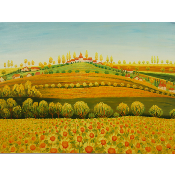 Castle Hill 100x80cm - $5,200
