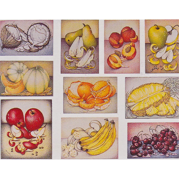 Composition of Fruit ~ Prints available