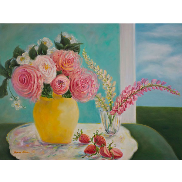 English Roses 60x52cm - SOLD