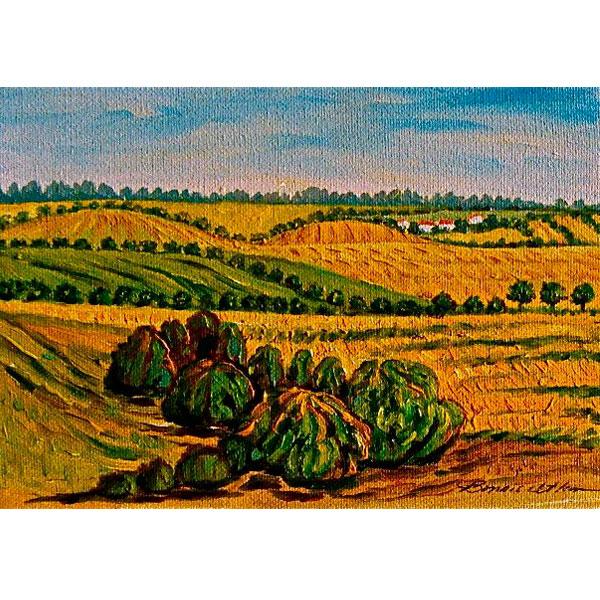 Gers Landscape 17x13- SOLD