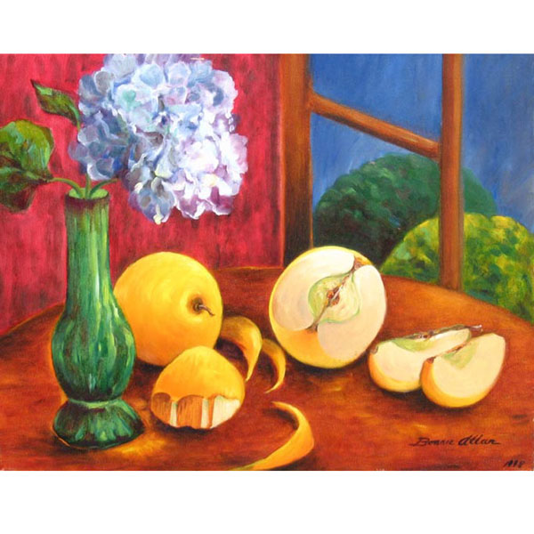 Yellow Apples - SOLD