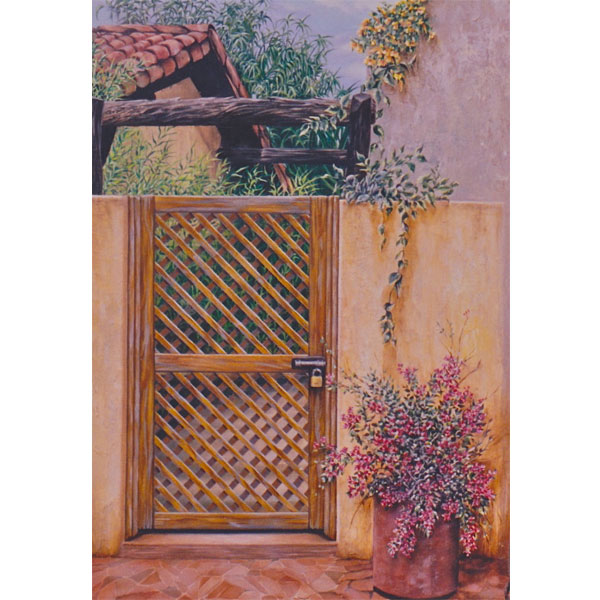 Mexican Gate 30x40cm- SOLD