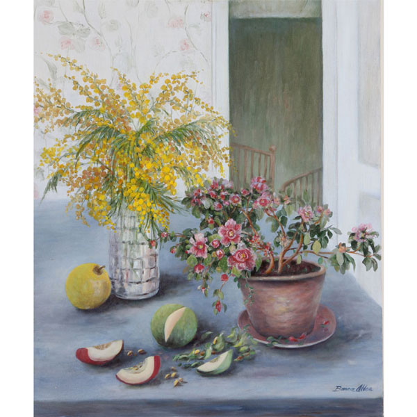 Mimosa 56x70cm - SOLD