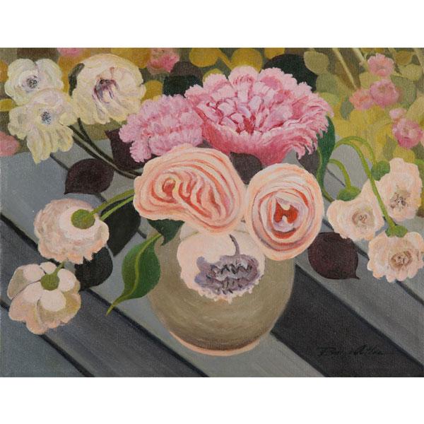 Pastel Bouquet 26x20cm - SOLD