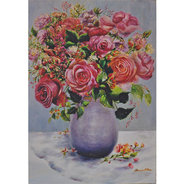 Prize Winning Bouquet 52x63cm- SOLD
