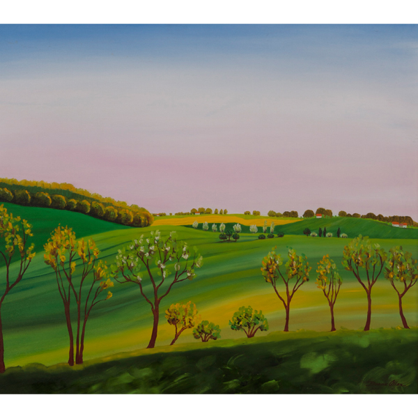 Green Fields 61x61-
