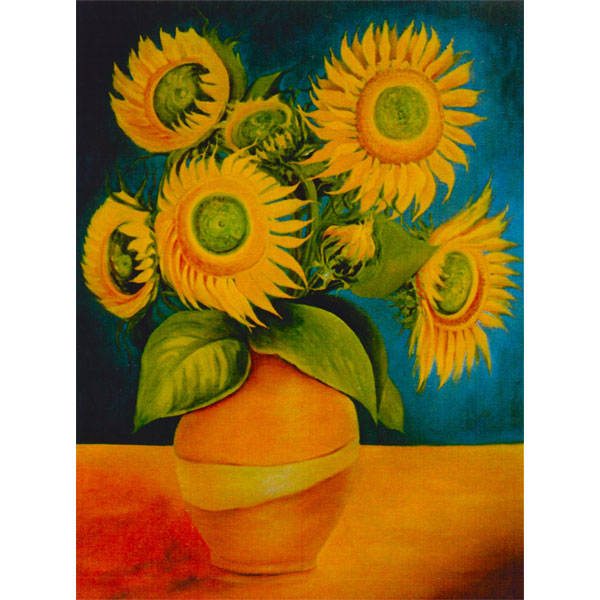 Splendid Sunflowers 100x120cm - SOLD