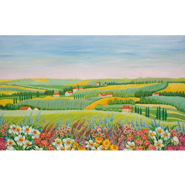 Spring Breeze 100 x70cm- SOLD