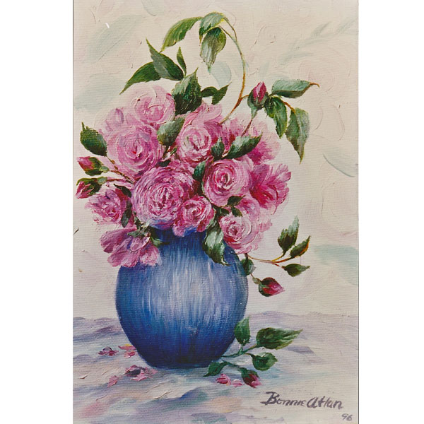 Pom Pom Roses  - SOLD