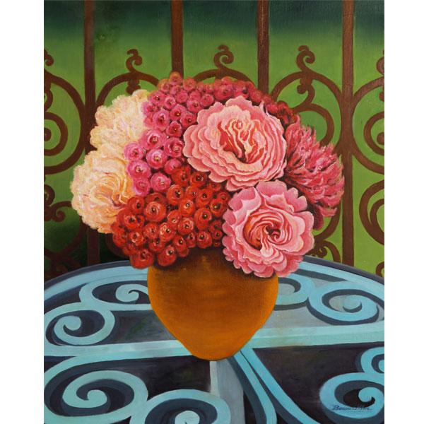 Summer Bouquet 51x61cm- SOLD