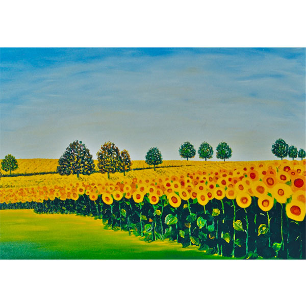 Sunflower Soldiers 76x61cm - SOLD