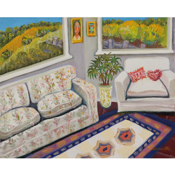 Sunroom 36x26cm -Artist's Collection