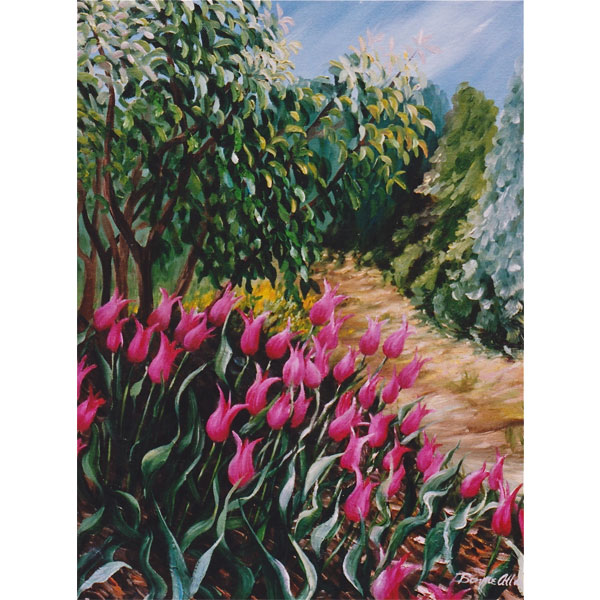 Tulip Path 46x61cm- SOLD