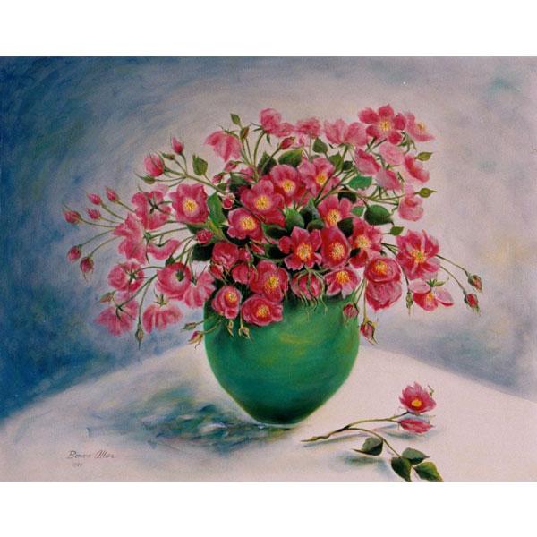 Wild Roses 76x62cm- SOLD