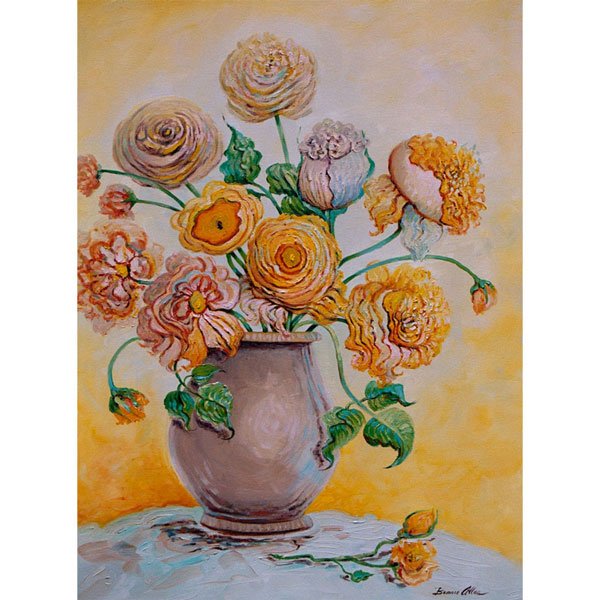 Yellow Bouquet 62x76cm -SOLD