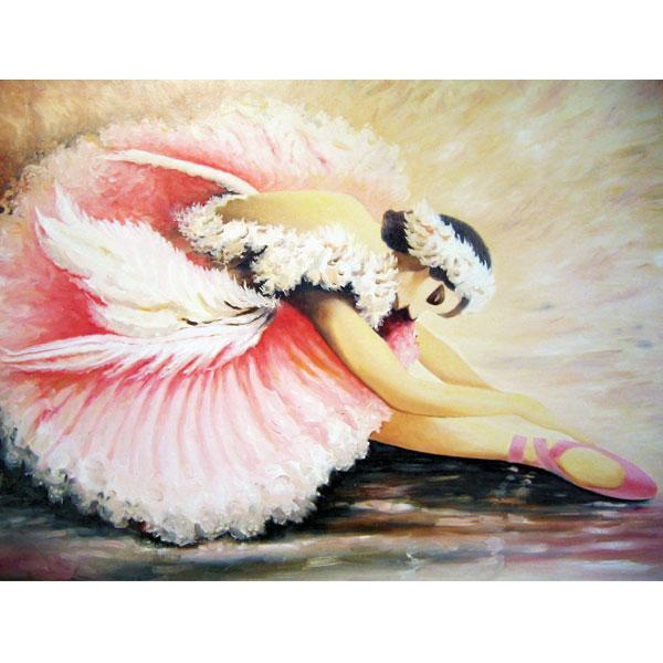 Pink Ballerina 93x76cm- SOLD