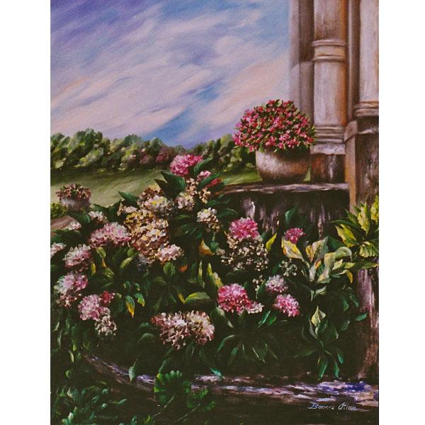 Castle Flower Bed 46x51cm- SOLD