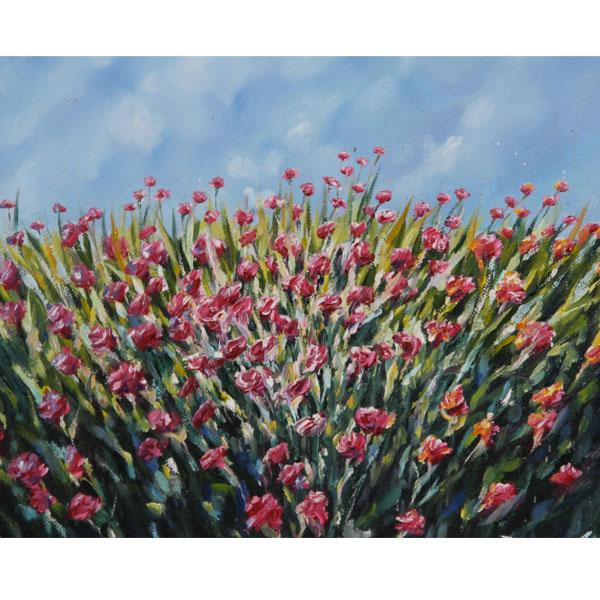 Field of Flowers 18x14cm - SOLD