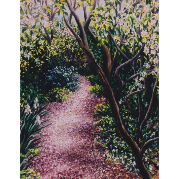 Country Path 26x36cm- SOLD