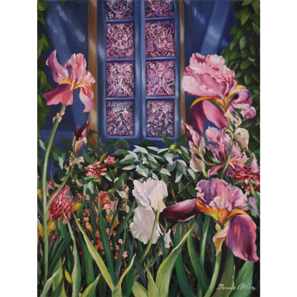 Iris Garden 51x61cm- SOLD